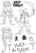 Woodware - Ahoy Matey - Clear Magic Stamp Set - JGS495